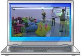 laptop screen + IoE vid