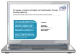 laptop with OfSTED case studies