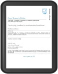 mathematical-resiliance in tablet